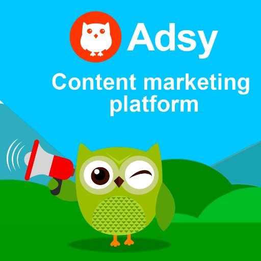 Adsy - Content Marketing Platform