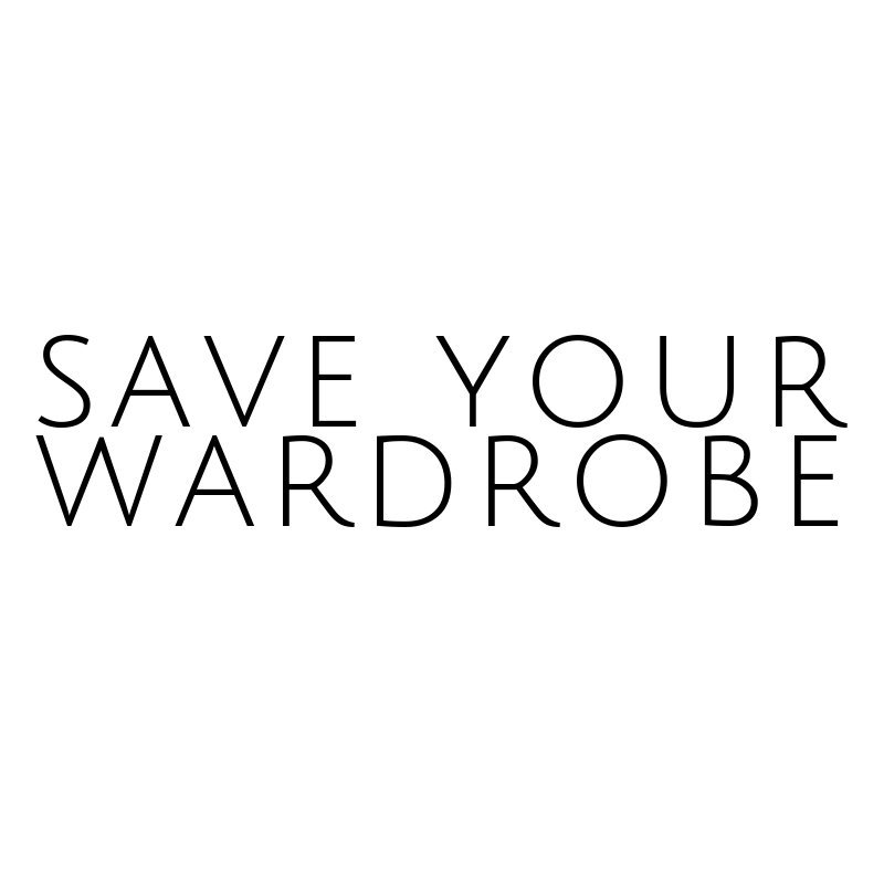 Save your wardrobe
