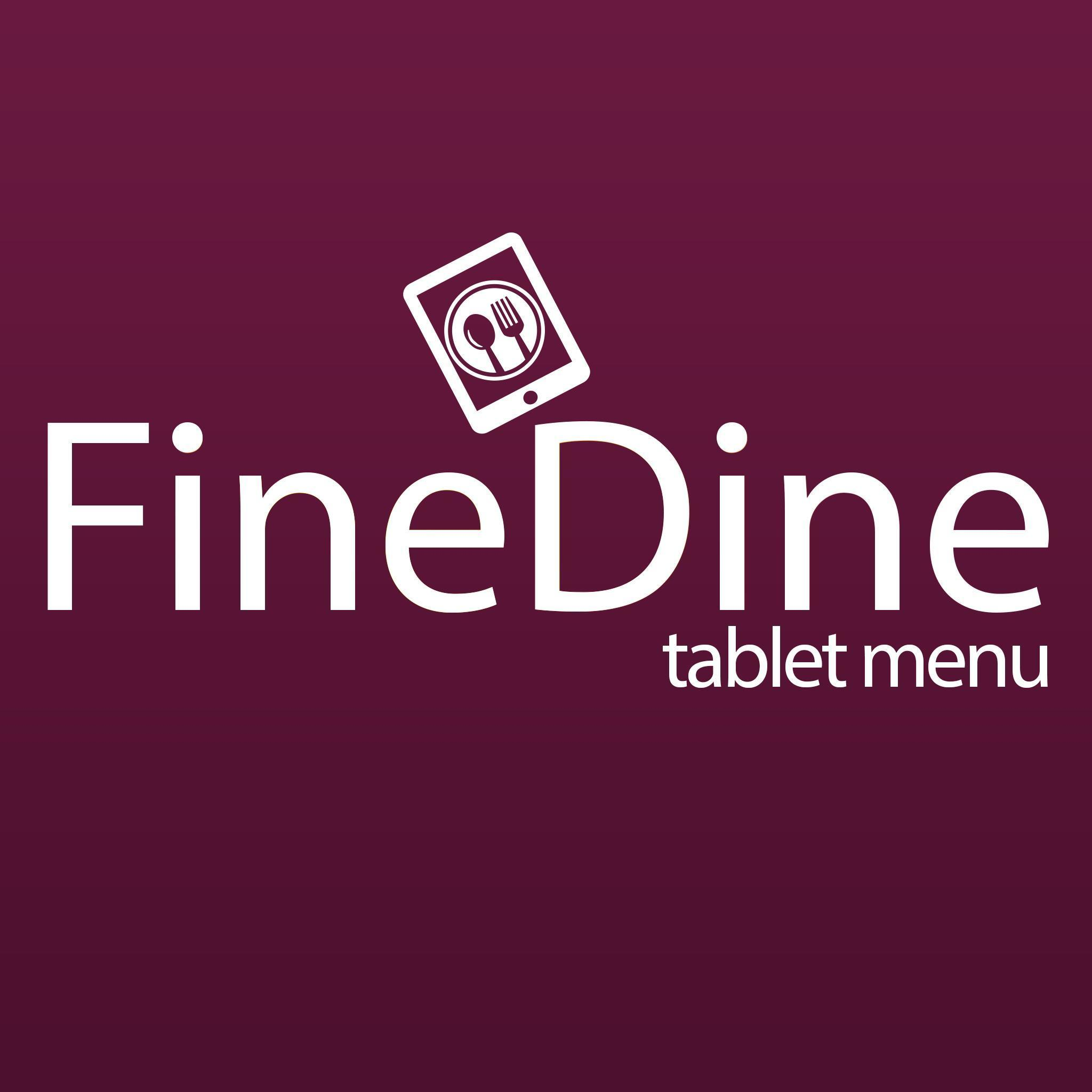 FineDine Tablet Menu