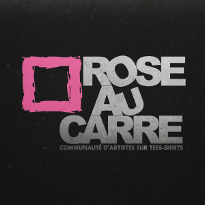 Rose au carré