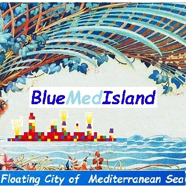 Blue med Islands L.T.D