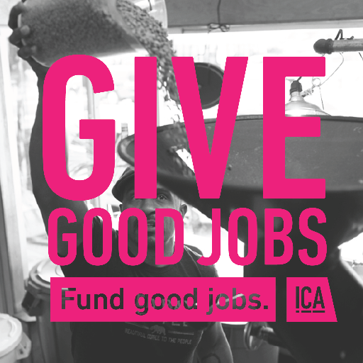 Fund good jobs.